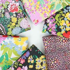 Regent Street Lawns by @modafabrics have arrived! Stunning florals on soft cotton lawn makes these a desirable bunch. #fabricworm #modernfabric #modafabrics #regentstreet #cottonlawn #floralfabric #fabriclove #modernsewing #modernquilting #sewing #englishgarden