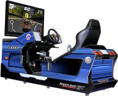The Chicago Gaming Redline GT Game Theater Racing Simulator Arcade Game is the…