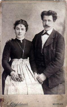 Tillie Genetti (1890-1985) and Pietro Zambotti (1881-1966)
