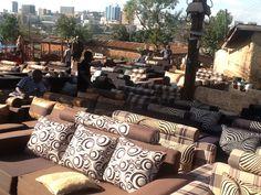 Anyone need a new sofa? Lots for sale on the Kampala roadside.