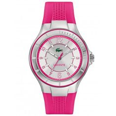 Lacoste Ladies Acapulco Silver Dial Watch