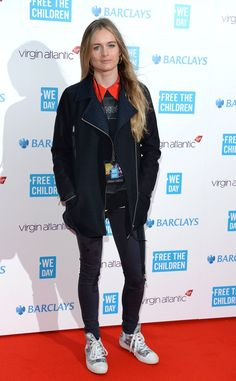 Pin for Later: Cressida Bonas Just May Be the Anti Kate Middleton Cressida Bonas at the We Day UK Event For her latest red carpet turn, Cressida had us looking down at her sparkly sequined sneakers.