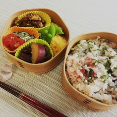 Mixed rice with Ume & Shiso
