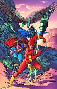 The Flash vs. Justice League