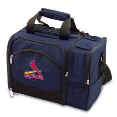 St. Louis Cardinals Malibu Picnic Tote with picnicking service for two