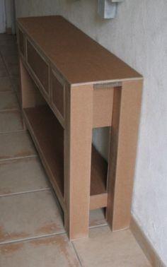 ment créer un meuble en carton étape par étape  partir de