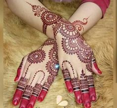 Check out this post on mehandi created by Ayesha Mujahed ( and top similar posts on mehandi, trendy products and pictures by celebrities and other users on Roposo. Arabic Henna Designs, Indian Mehndi Designs, Modern Mehndi Designs, Mehndi Design Pictures, Beautiful Mehndi Design, Simple Mehndi Designs, Mehndi Images, Mehandi Designs, Heena Design