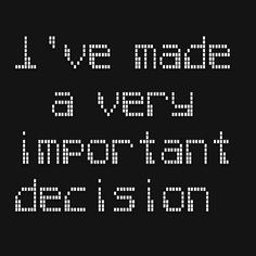 I've made a very important decision  http://www.theautismdad.com/2015/11/15/ive-made-a-very-important-decision/  Please Like, Share and visit our Sponsors  #Autism #Family #SPD #SpecialNeedsParenting #Aspergers #Parenting #Sensory #ADHD #Awareness #AutsimAwareness #RobGorski #TheAutismDad #AutismDad #Divorce #SingleParenting #AutismParenting