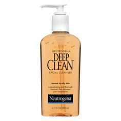 The Ten Best Drugstore Face Cleansers - #10 Neutrogena Deep Clean Facial Cleanser #rankandstyle