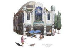 Michelin Building, Fulham Road. Liam O 'Farrell