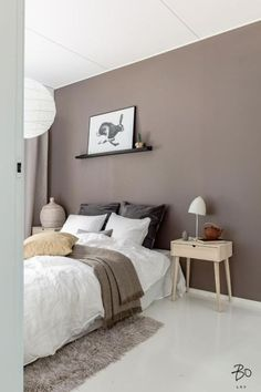 Today we're going to talk about Modern Floor Lamps in a different room of your home! Library Day, the place where you can work, relax or read a book. Bedroom Decor Lights, Bedroom Wall Colors, Room Ideas Bedroom, Room Colors, Home Decor Bedroom, Home Room Design, Interior Design Living Room, House Rooms, Room Inspiration