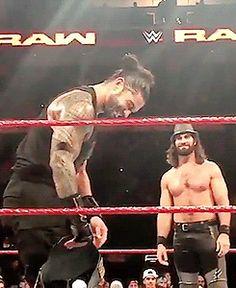 Seth Rollins| Roman Reigns |#TheShieldReunite#formerTagTeamChampions