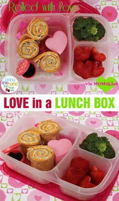 Happy Valentines' Day Lunch box. Sweet! DETAILS HERE: Biting the Hand That Feeds you