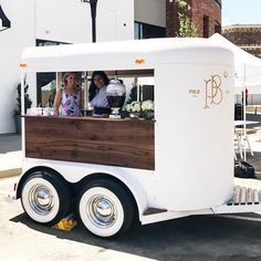 Loving styling out our at opening today in Food Cart Design, Food Truck Design, Catering Trailer, Food Trailer, Coffee Food Truck, Coffee Trailer, Mobile Catering, Food Truck Business, Food Vans