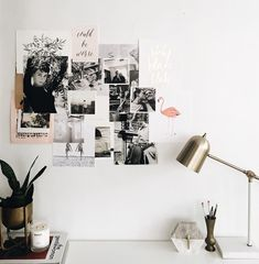 What I Learned Through Self-Publishing My Own Book Desk Inspo, Desk Inspiration, Diy Image, Polaroid Foto, Polaroid Wall, Bedroom Decor, Wall Decor, Decor Room, Idee Diy