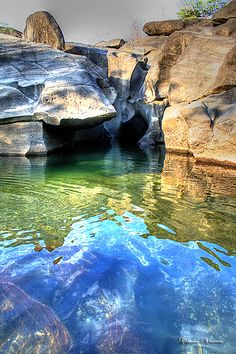 Vale da Lua (Valley of the Moon), Chapada dos Veadeiros National Park, Brazil