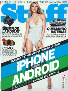 Revista #Stuff 73. iPhone contra Android.