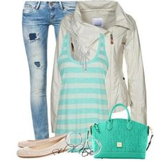 33 Polyvore Combinations For Every Day. The cool jacket really takes this casual outfit up a notch