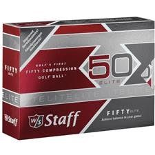Wilson Staff  Fifty Elite Golf Balls,  Pack of 12 - http://www.closeoutball.com/golf-balls-closeout-sale/wilson-staff-fifty-elite-golf-balls-pack-of-12-2/
