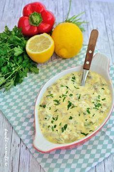 Ciuperci cu maioneză şi usturoi