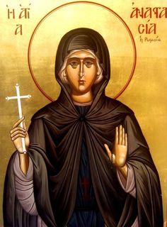#saint, #saintanastasia, #saintanastasiatheroman, #bysantine, #iconography, #greekiconography, #evapolart, #handmade, #handpainted, #handcrafted