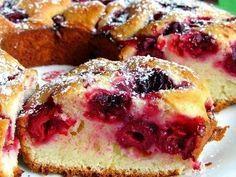 Кулинарный блог!Лучшие рецепты.: Быстрый «Вишневый пирог»