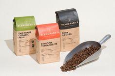 Coffee Branding by Skirven & Croft Coffee Packaging, Coffee Branding, Spice Logo, Coffee Jars, Coffee Labels, Spice Labels, Label Design, Package Design, Logo Design