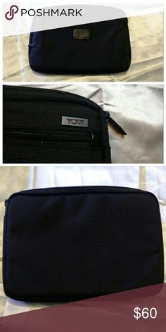 "NWOT - Tumi laptop cover 13"" Brand new, Tumi laptop cover for 13"" laptops. Military-grade ballistic nylon and a padded interior shield your laptop from any adversary.  Dimensions: 13.38 x 9.84 x 1.96 in (H x W x D) Tumi Bags Laptop Bags"