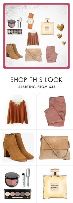 """Bez naslova #1"" by nisa-besic ❤ liked on Polyvore featuring Aquazzura, Bobbi Brown Cosmetics and Tory Burch"