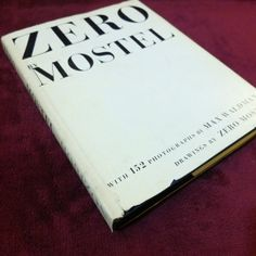 Zero by Mostel 1965 Hard Cover by BlackFedoraArtnStuff on Etsy, $15.00