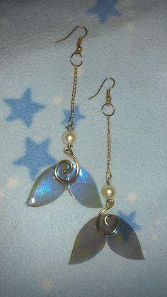 Long Mermaid Tail earrings