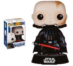 Star Wars POP! Vinyl Wackelkopf-Figur Unmasked Darth Vader 9 cm