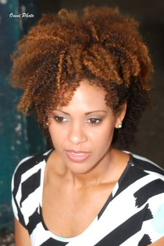Natural hair beauty hairstyle