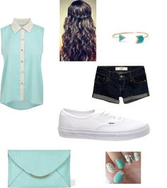 """Daily outfit for teens"" by missaubree on Polyvore"