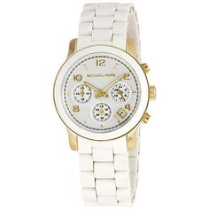 Michael Kors Silver Dial White Polyurethane Ladies Watch 5145. Deal Price: $139.00. List Price: $250.00. Visit http://dealtodeals.com/featured-deals/michael-kors-silver-dial-white-polyurethane-ladies-watch/d20391/watches/c135/