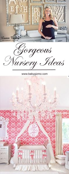 Gorgeous Nursery Ideas! Having a baby? These nursery ideas are amazing! #babynursery #nursery #baby