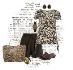 """Just an Animal"" by gemique ❤ liked on Polyvore featuring River Island, Dorothy Perkins, Sesto Meucci, M&Co, Charlotte Russe and Shinola"