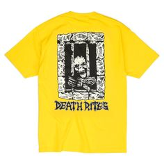 Left To Die Tee, Yellow – Lo-Fi