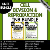 Cell Division and Reproduction Interactive Notebook Unit Bundle Secondary School Science, The Cell, Differentiation, Interactive Notebooks, Teacher Pay Teachers, Division, Teaching Resources, Middle School, The Unit