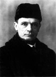 Portrait of Rudolf Steiner.
