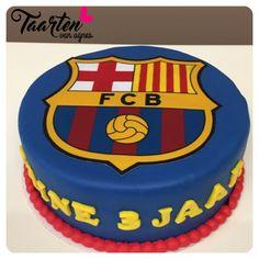 Barcelona Cake, Sports Party, Fondant, Birthday Cake, Calm, Desserts, Crafts, Ideas, Food