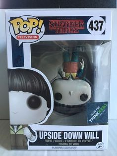 Funko POP! Television Stranger Things UPSIDE DOWN WILL Think Geek Exclusive MINT    eBay