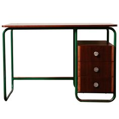 Deco Industrial Desk - don't actually plan on getting this but thought it was cool