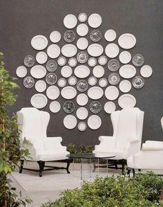 White&Grey Monotone : Round&Oval  look nice.