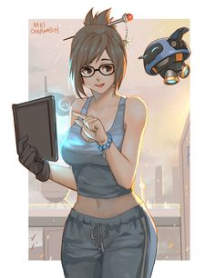 Overwatch Video Game, Overwatch Comic, Overwatch Fan Art, Chica Gamer Real, Mei Ling Zhou, Overwatch Drawings, Overwatch Wallpapers, Game Character, Female Characters