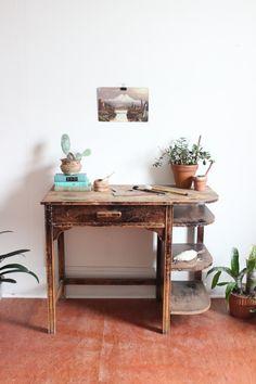 vintage mid century desk by experimentalvintage on Etsy