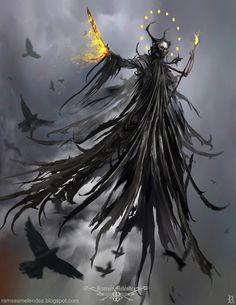 Abaddon – fantasy/horror concept by Ramses Melendez