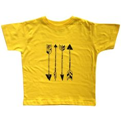 Made a similar shirt for my girls with 3 arrows and gold paint.