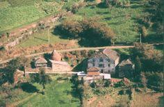 Imagen aérea de Casa Rigueiro