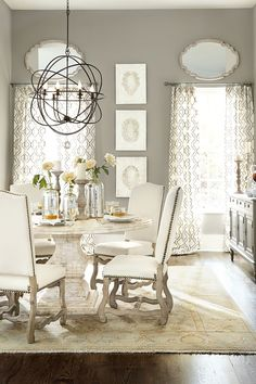 How to Select the Right Size Chandelier | How to Decorate blog (Ballard Designs)